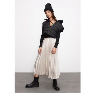 Pleated Skirt Size S NWT
